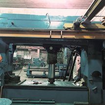 600 Ton Hydraulic Dishing Press